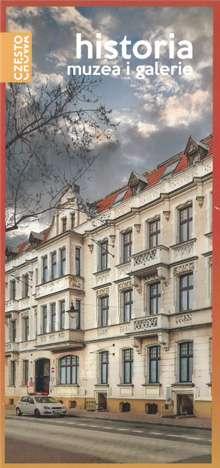 Okładka ulotki Częstochowskie muzea i galerie