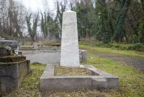 Grób Rosenberga na cmentarzu żydowskim