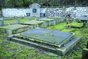 Grób na cmentarzu żydowskim
