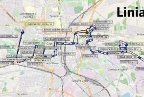 Mapa - Linia 11