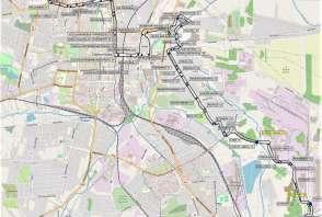 Mapa - Linia 28