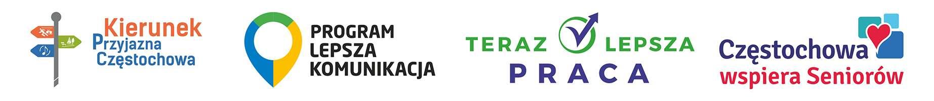 Logotypy programów miejskich