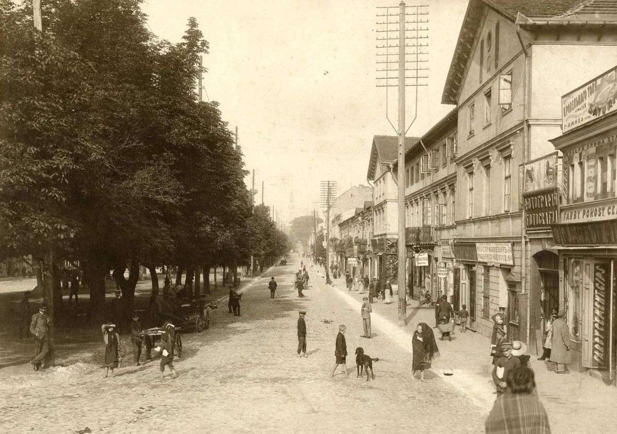 Częstochowa w końcu XIX wieku