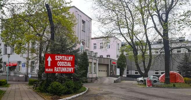 Budynek szpitala Częstochowie