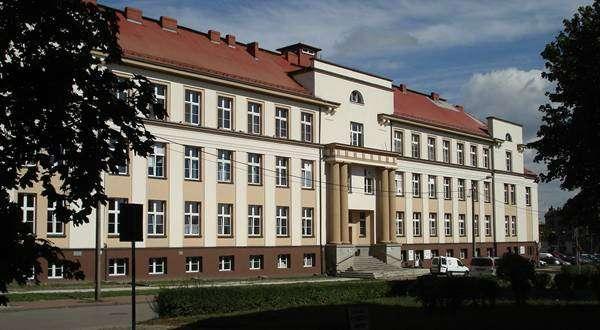 Budynek szpitala w Częstochowie