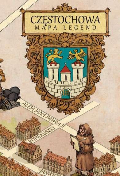 Okładka Częstochowa - Mapa Legend