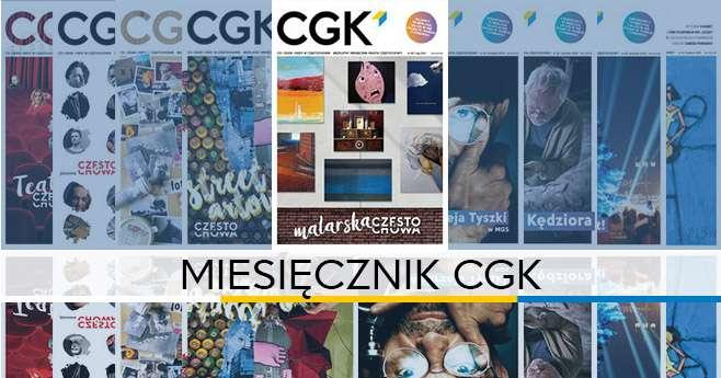 Okładki miesięcznika cgk