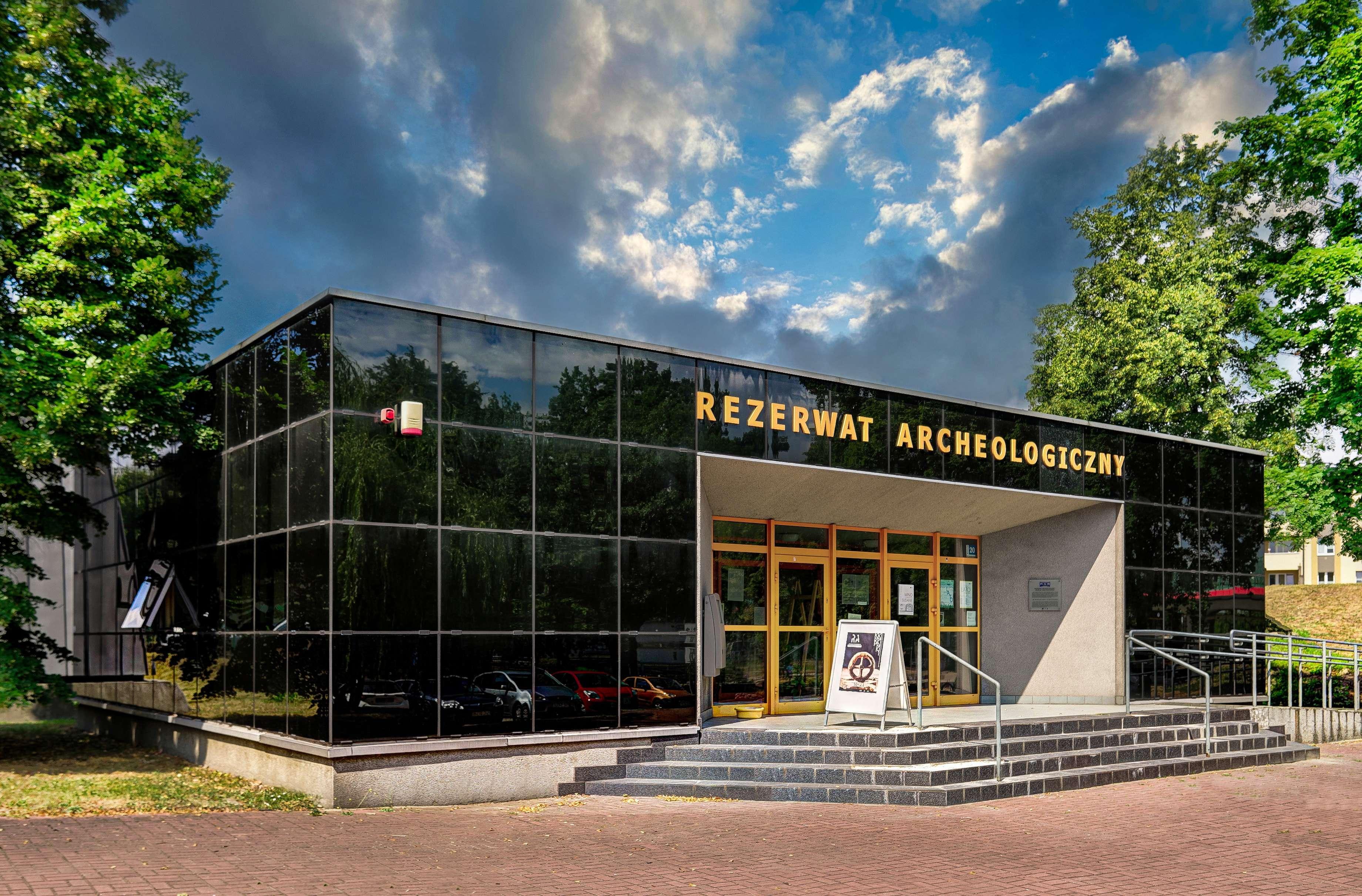 Budynek Rezerwatu Archeologicznego