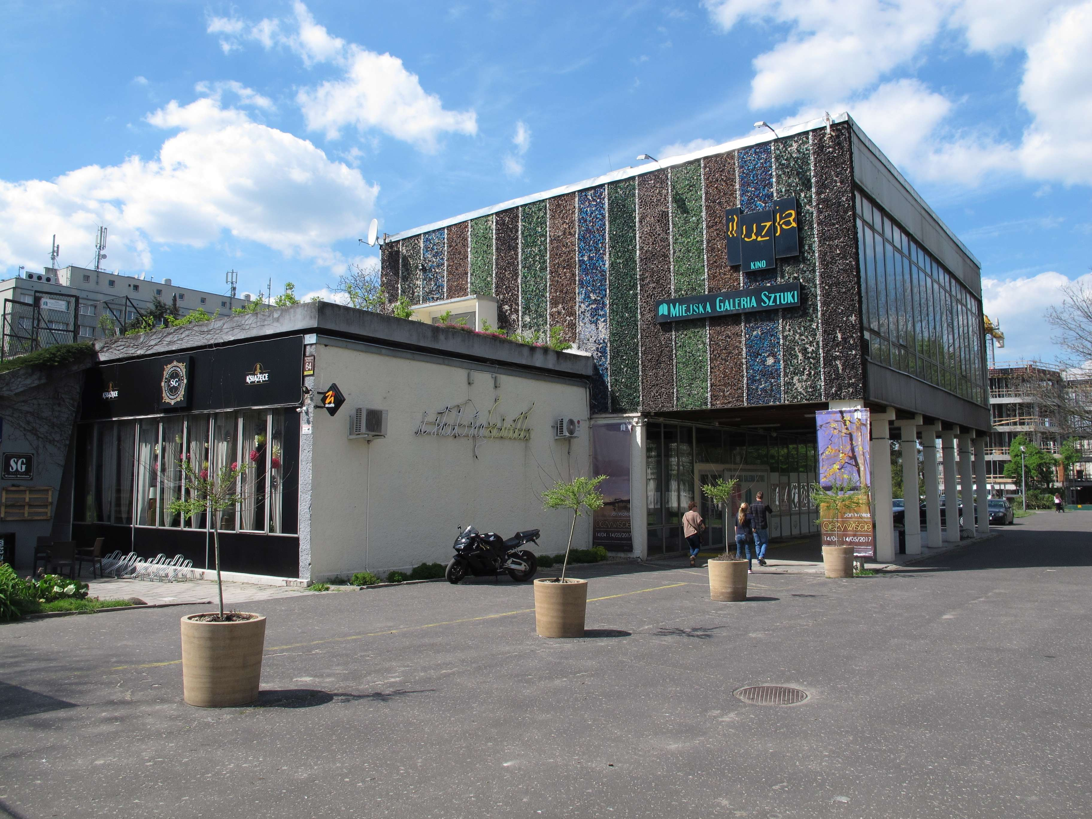 Budynek Miejskiej Galerii Sztuki