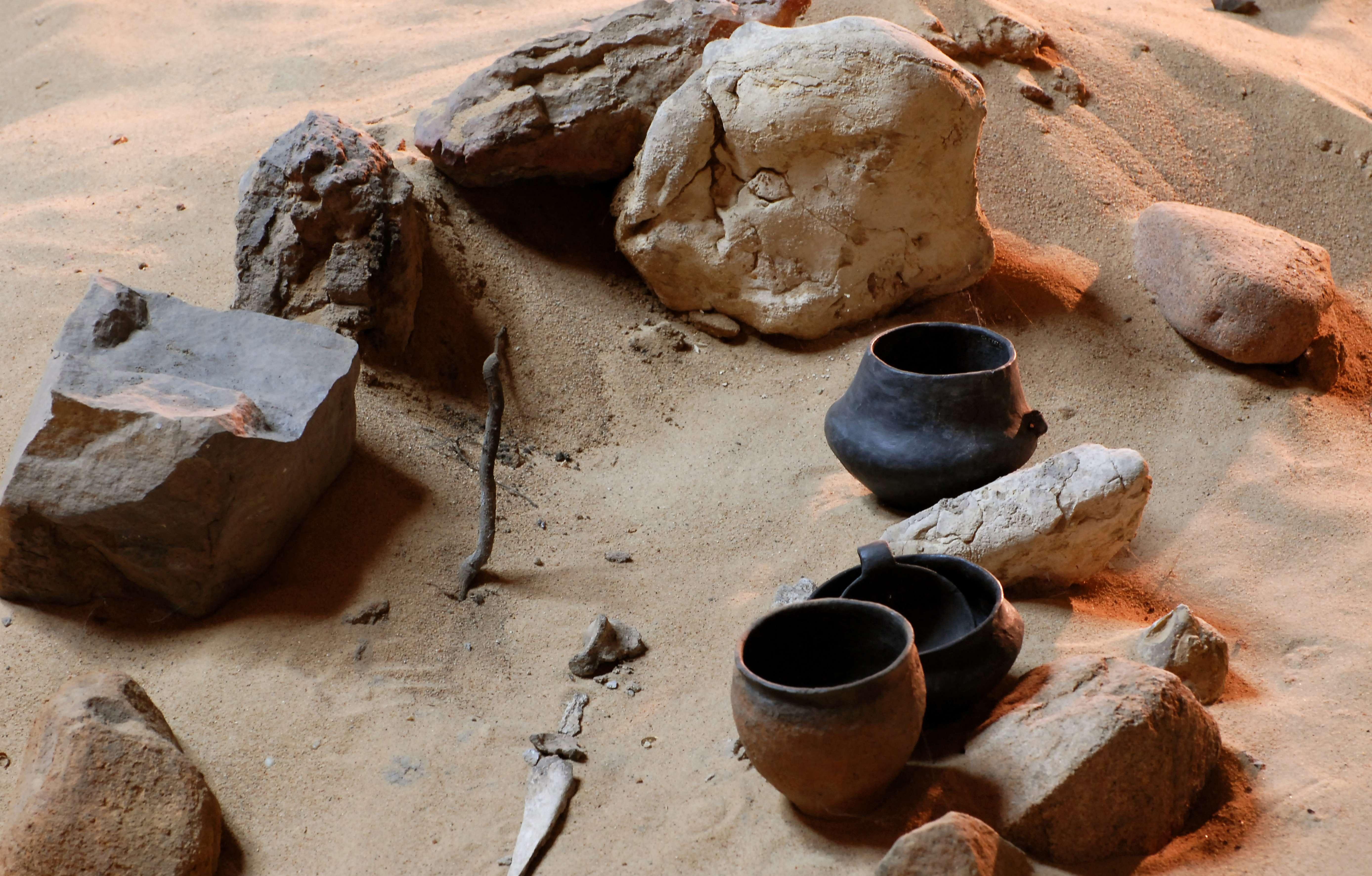 Rezerwat Archeologiczny mieści zachowaną