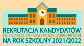 Rekrutacja do szkół ponadpodstawowych