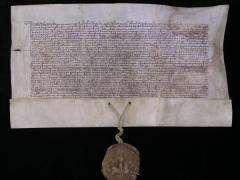 Dokument fundacji Klasztoru Jasnogórskiego z 1382 roku
